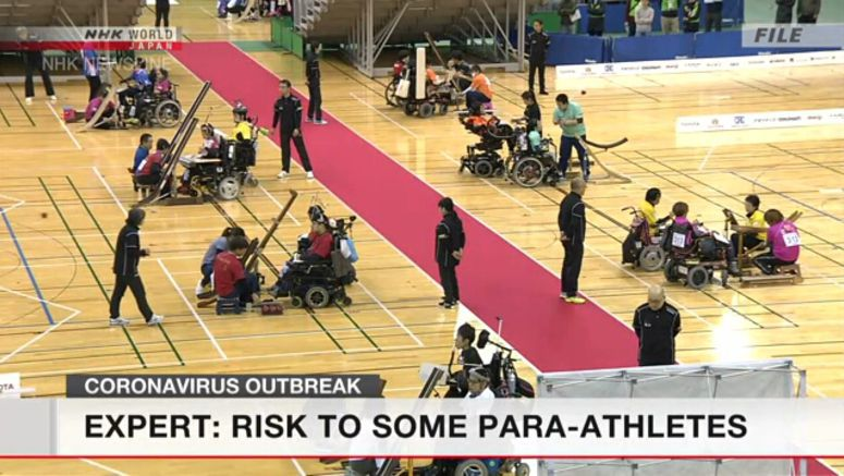 Expert: Risk to some para-athletes