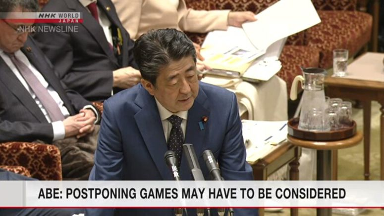 Abe: Decision on 2020 Games may be needed