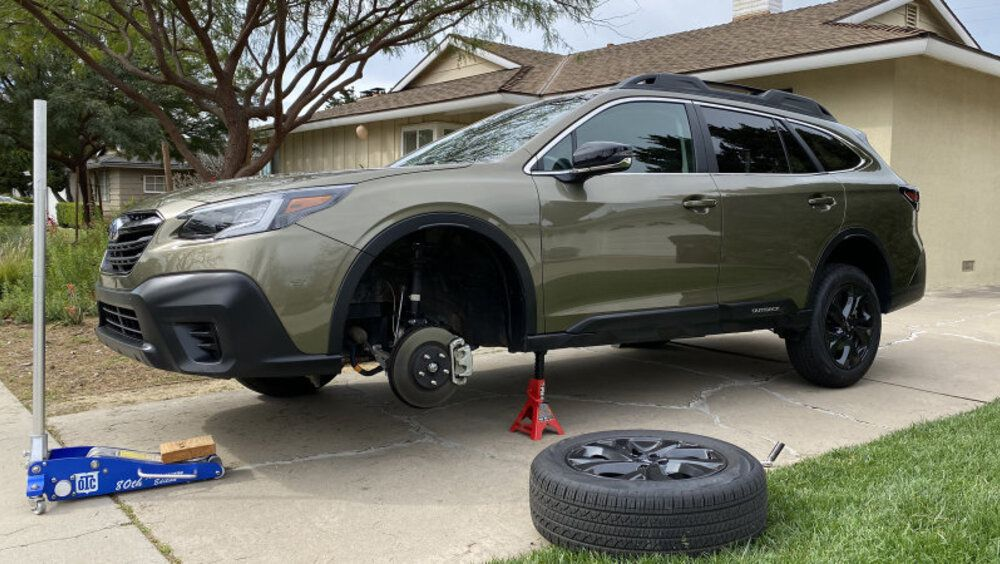 2020 subaru outback suspension  how it works ground