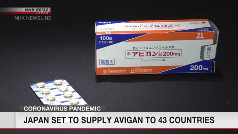 Japan to ship Avigan to 43 countries soon