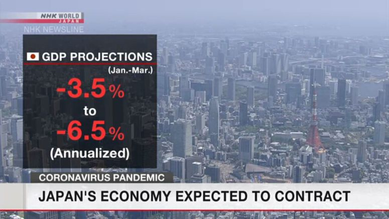 Contraction projected for Japan 1st quarter