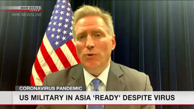 US military 'remains ready' in Asia despite virus