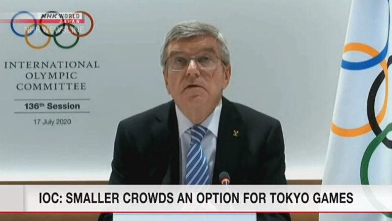 IOC: Fewer spectators an option for Tokyo Games