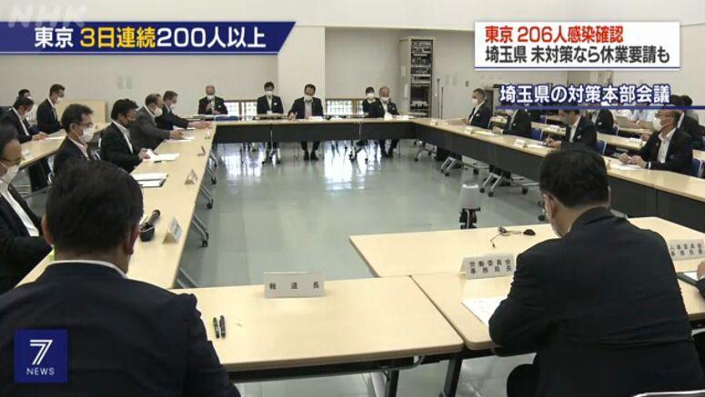 Saitama asks bars not following guideline to close