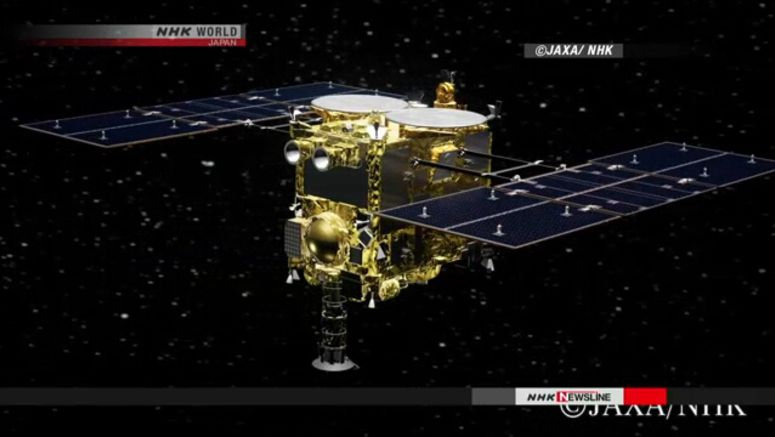 Hayabusa2 to return samples to Earth in Dec.