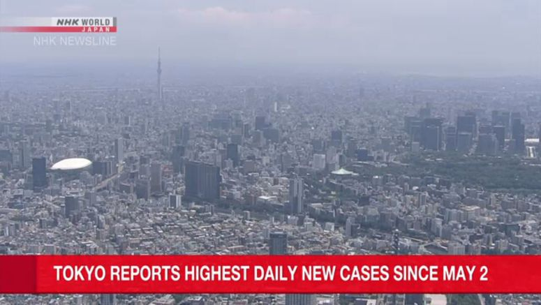 Tokyo confirms over 100 new cases