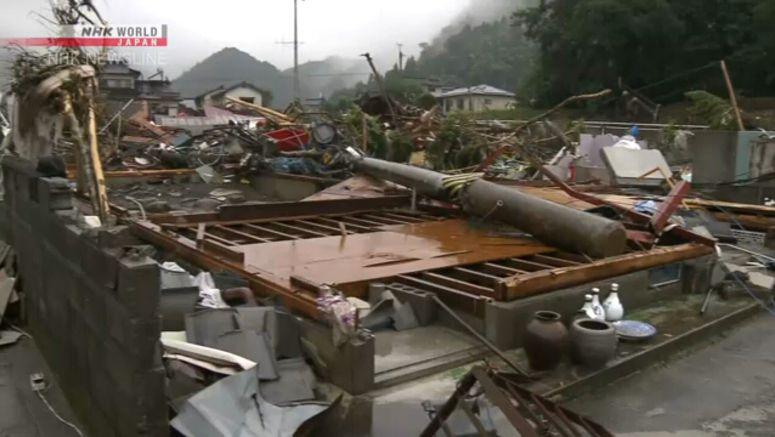 Heavy rain damages over 12,000 houses