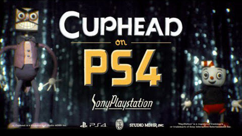 Cuphead Is Now Available For The PS4