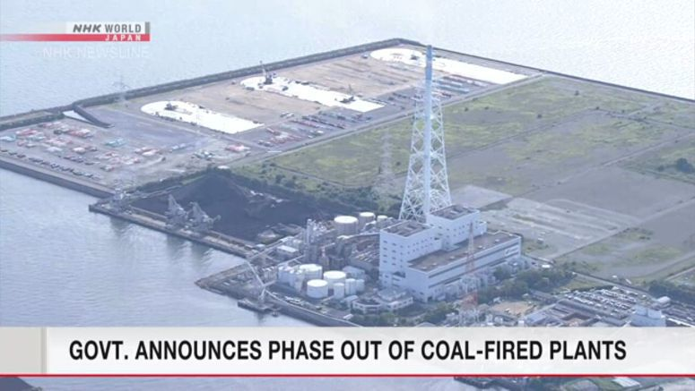 Japan to shift from coal to renewable energy