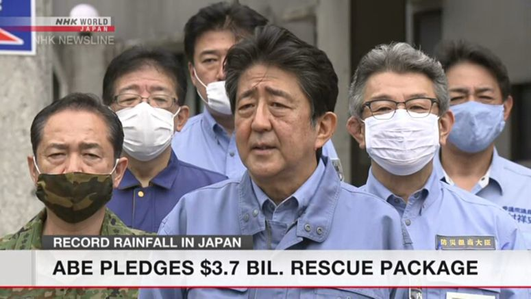 Japan eyes $3.7 bil. for rain-hit regions