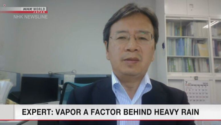 Expert looks at vapor as factor behind heavy rains