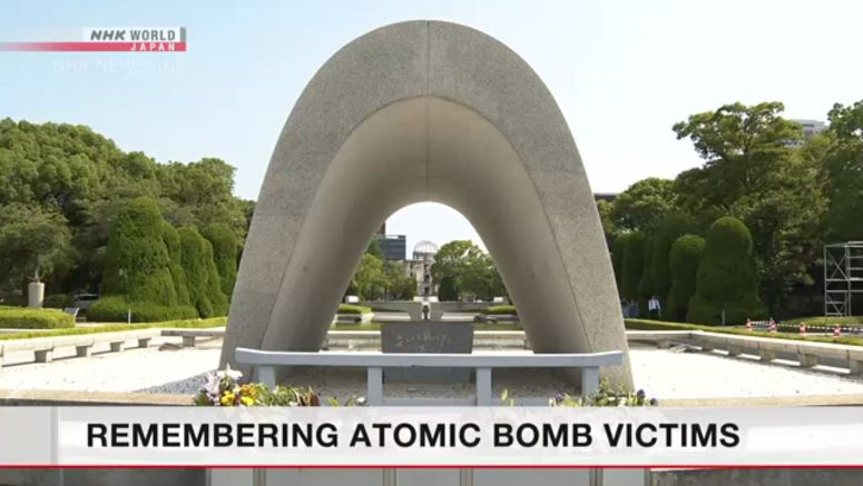 Hiroshima marks 75 years since atomic bombing