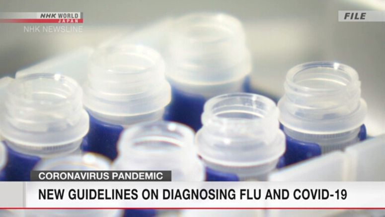 Japan experts advise on flu, coronavirus diagnosis