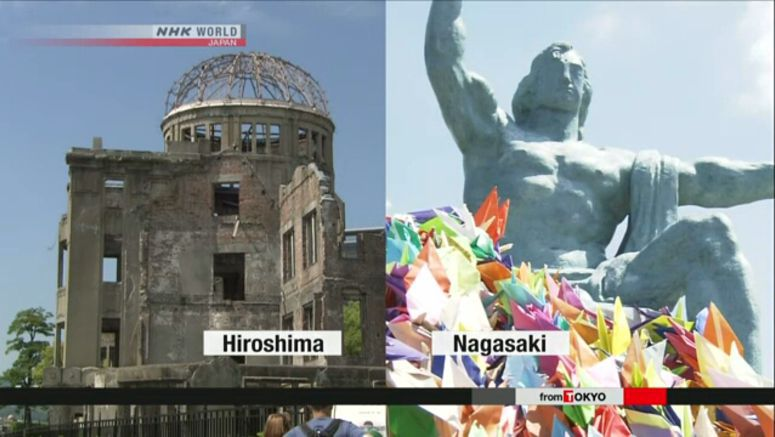 Abe to attend Hiroshima, Nagasaki ceremonies