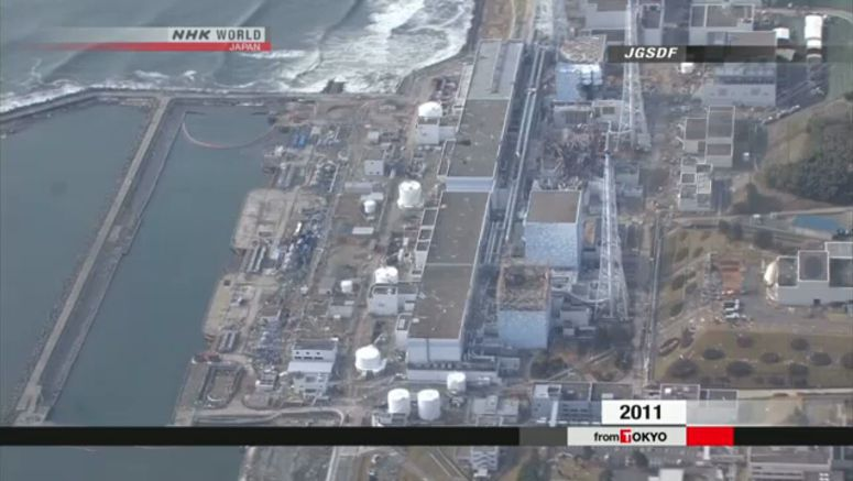 TEPCO: 11m seawall completed at Fukushima plant