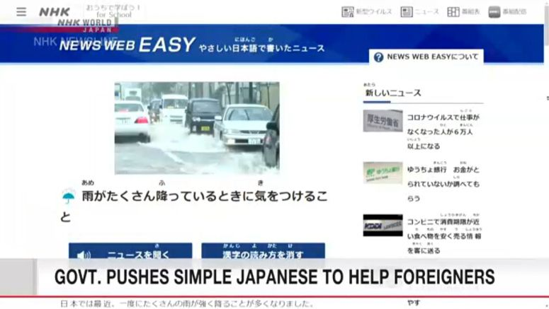 Survey: Nearly 50% say 'Easy Japanese' necessary