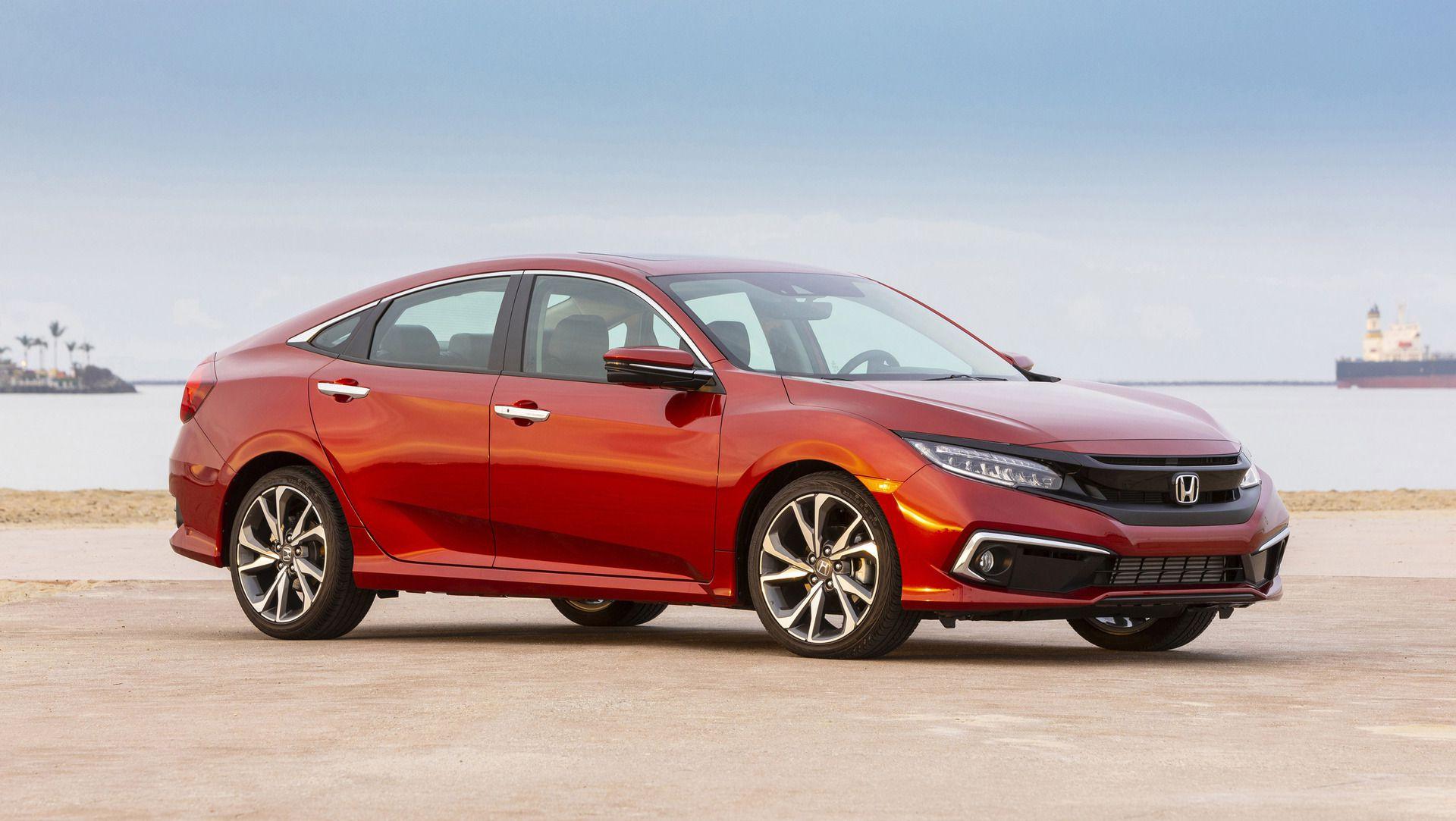 2021 Honda Civic sedan drops manual transmission option ...