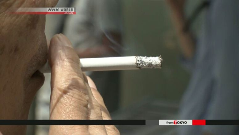 Japan's smoking rate drops to record low