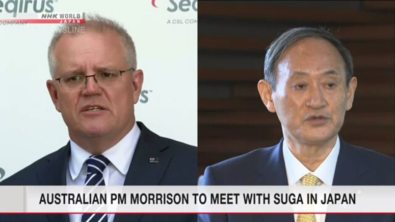 Australian PM Morrison to meet Suga in Japan