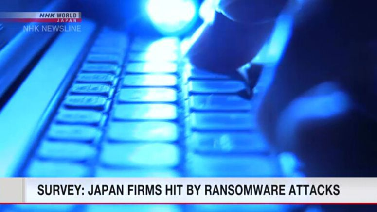 Japanese firms suffered cyberattacks