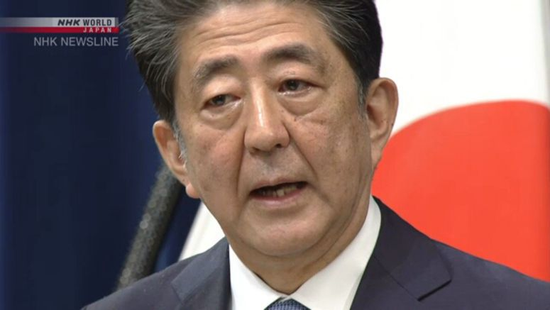 Abe says willing to cooperate in party fund probe