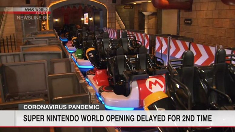 Super Nintendo World opening delayed for 2nd time