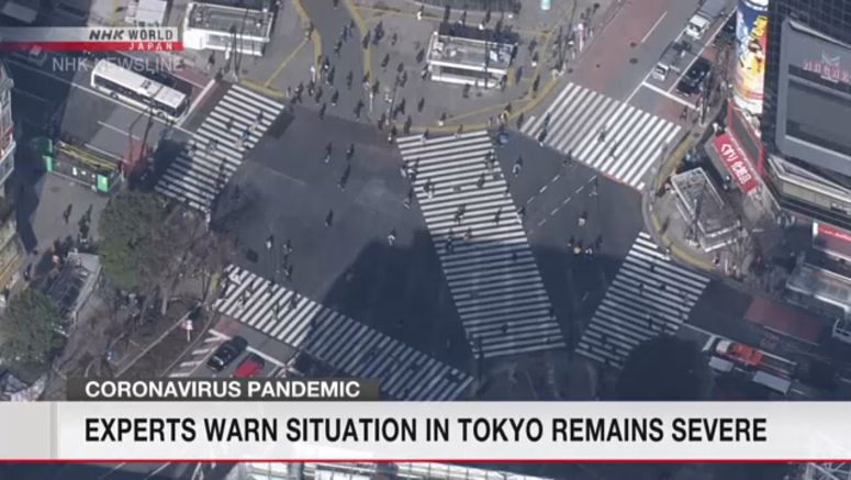 Coronavirus situation in Tokyo remains severe