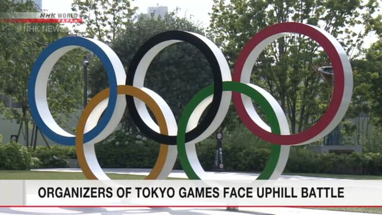 Unusual preparations for Tokyo Olympics