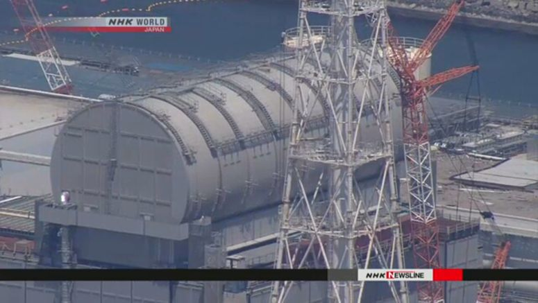 All fuel units removed from No.3 reactor pool