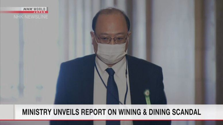 Ministry unveils report on wining and dining