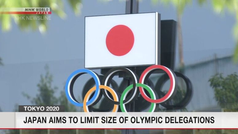 Japan seeks limits on Olympic delegations