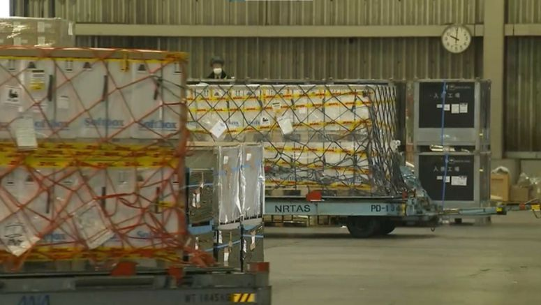 4th shipment of COVID-19 vaccine arrives in Japan