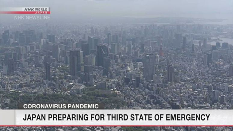 Japan preparing for third state of emergency