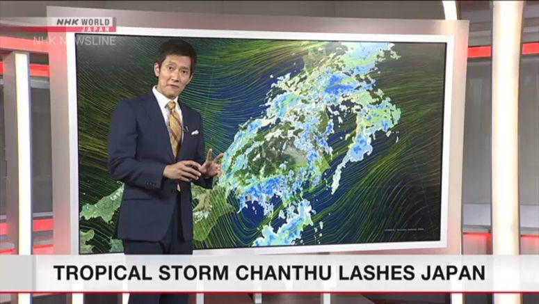 Analysis on tropical storm Chanthu