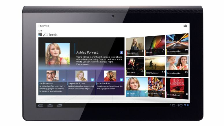 Android 4.0 now available for Sony Tablet S