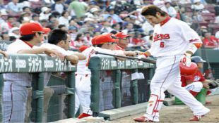 Carp's Kurihara monthly MVP again