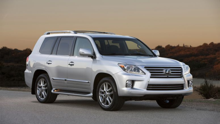 Detroit 2013 Lexus Introduces 2013 LX 570 Luxury Utility Vehicle at North American International Auto Show