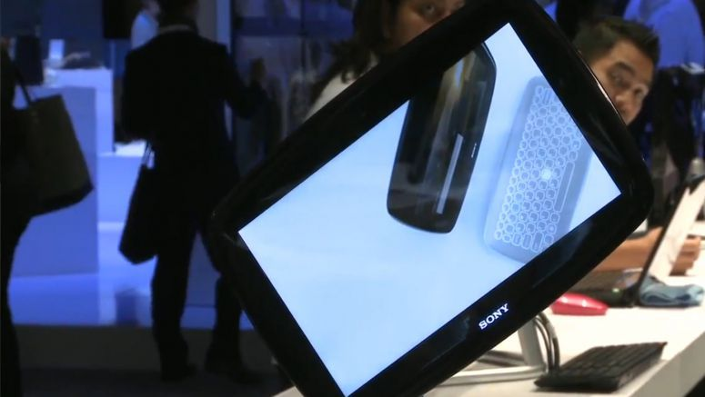 Sony Brings New Prototypes to CES 2012