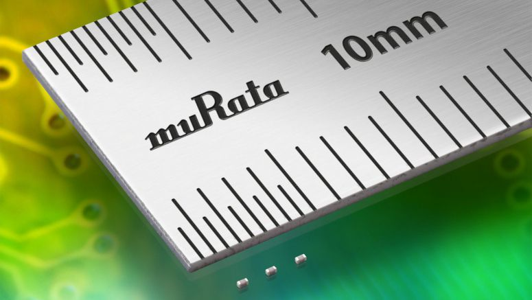 Murata introduces world's first and smallest 01005-size Hi-Q MLCC
