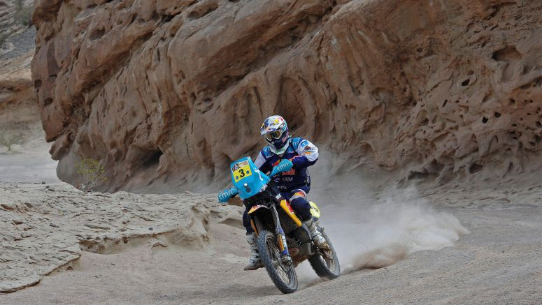 Yamaha Rodrigues completes Dakar adventure in 3rd position