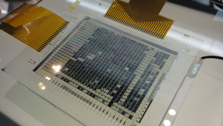 Organic TFT For Use In Foldable Displays Of The Future