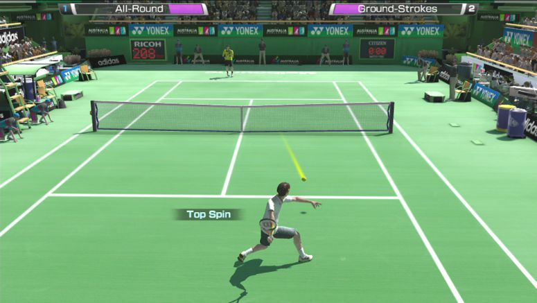 Touch Controls In SEGA Virtua Tennis 4: World Tour Edition