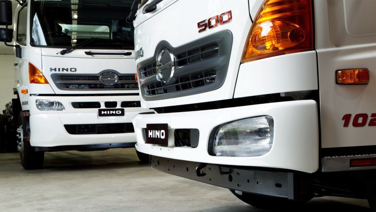 Hino Makes Front Under-Run Protection System Standard Equipment