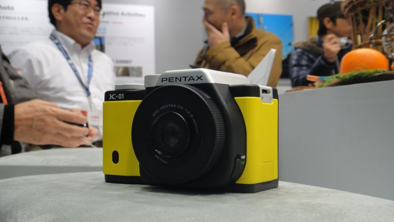 Pentax K-01 MILC Camera Designed by Marc Newson