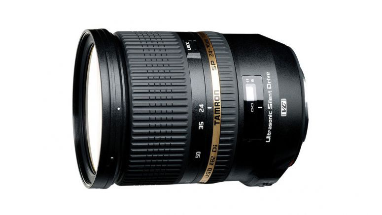 Tamron develops worlds first full-size high-speed standard zoom lens with built-in image stabilization