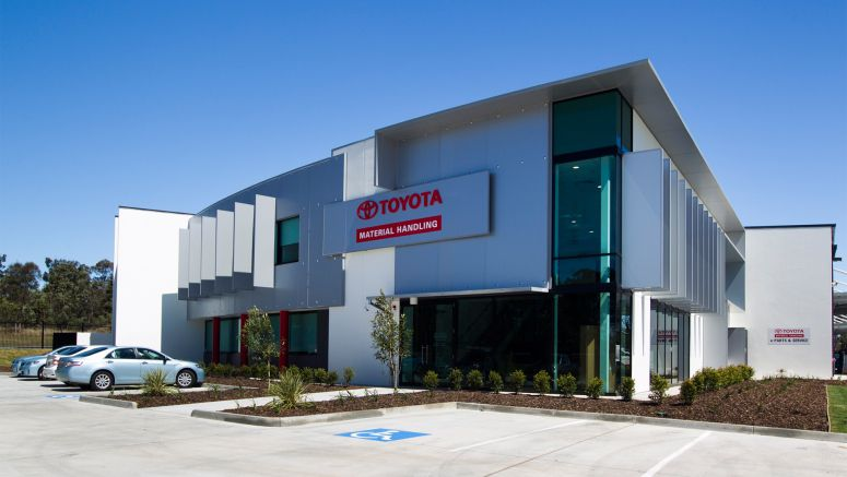 Toyota New State Of The Art Queensland Branch