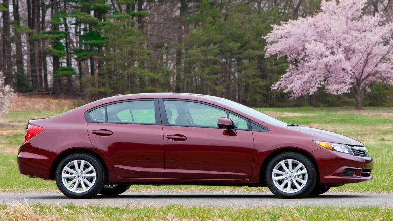 2012 Honda Civic Named One Of The 10 Best Green Cars of 2012 By Kelley Blue Book