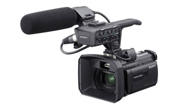 Sony to Debut Professional Camcorder With Anti-shake Function