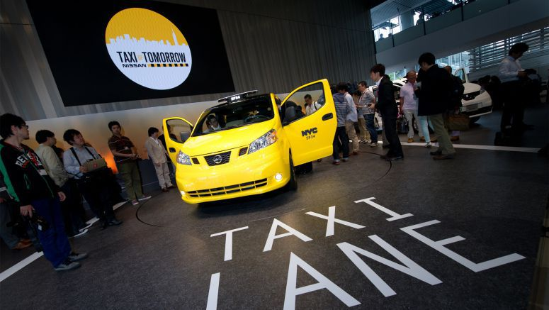 Nissan Taxi's Global Roadshow Makes Japan Stop