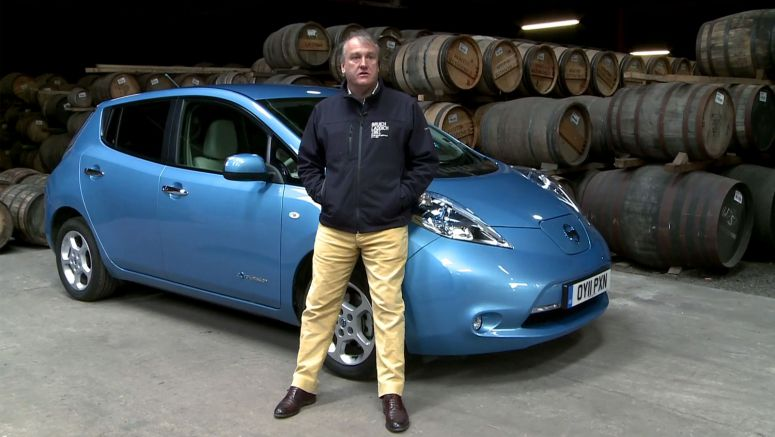 VIDEO Nissan Leaf at the Isle of Islay Whisky Distillery